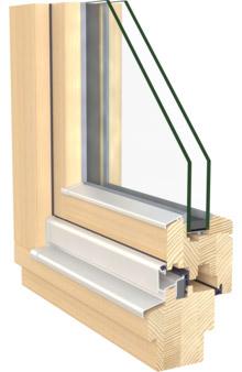 Holzfenster von Hrachowina Pestitschek Graz